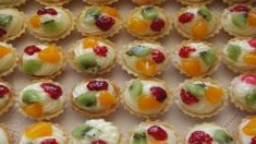 Snack Recipes, Cooking Recipes, Snacks, Mini Tart, Czech Recipes, Mini Cakes, Food And Drink, Sweets, Cookies