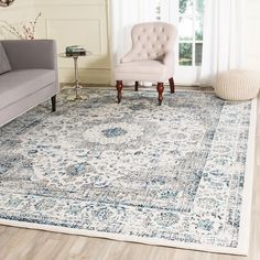 x 14 ft. Area Rug - Best Rugs - Ideas of Best Rugs - Safavieh Evoke Gray/Ivory 10 ft. x 14 ft. Area Rug The Home Depot Living Room Area Rugs, My Living Room, Living Room Decor, Dining Room With Rug, Dining Room Area Rug Ideas, Dining Rooms, Kitchen Dining, Living Colors, Traditional Area Rugs