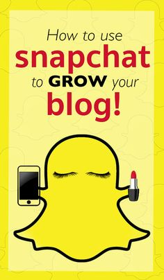 Snapchat 101    How to use Snapchat to GROW your blog and boost your readers engagement + have FUN!   www.therawedit.com