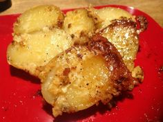 Roasted Parm Taters