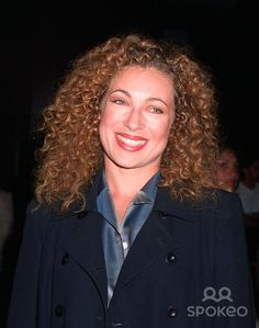 20OCT97: New ER star, British actress ALEX KINGSTON at premiere in Los Angeles of TV movie Before Women Had Wings. The movie is the first for Oprah Winfreys Harpo Films production company.