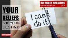 DIRECT SELLING & NETWORK MARKETING NEWS  #13 - YOUR BELIEFS DETERMINE YO... Direct Selling, Direct Sales, Marketing News, Net Worth, Destiny, Channel, University, Tv, Tvs
