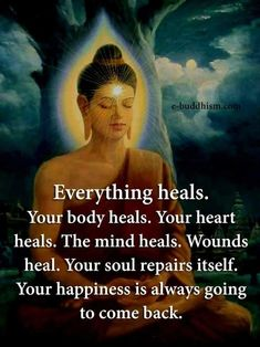 The Best Healing Quotes from The Random Vibez, with an extensive collection of quotations, sayings, and images by famous authors. Buddhist Quotes, Spiritual Quotes, Wisdom Quotes, Me Quotes, Buda Quotes, Spiritual Enlightenment, Spiritual Growth, Spiritual Awakening, Positive Affirmations
