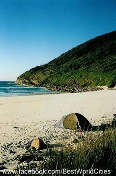 #Port Stephens One Mile Beach