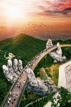 Walking through a God's hands    #danang #vietnam #beautifuldestinations #nature #discoverearth #whatsyourbucketlist #southeastasia #travel