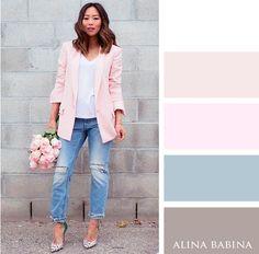 Alina Babina colors palettes