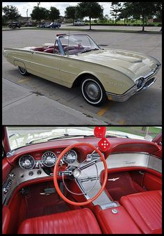 1962 Ford Thunderbird Sports Roadster 390 Ci, Automatic #Fordclassiccars