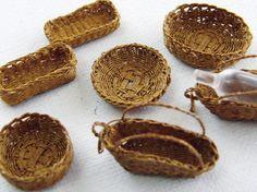 調理小物 - ちょび子のミニチュアレストラン 樹脂粘土で作る12分の1サイズのミニチュアフード
