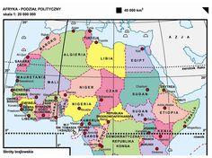 29. Afryka – podział polityczny