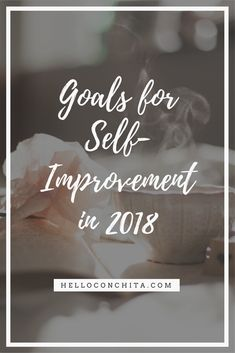 New Years is coming up and it's time for the goals and wishes to improve ourselves. Here are some of my tips!