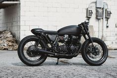 Ultra Noir: A blacker than black Honda CB750 Murdered-out customs used to be all the rage. But lately, builders have been favoring more diverse color palettes. Which is a real pity: done right, ...