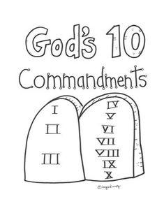Church House Collection Blog: Thou Shalt Not Lie Craft For