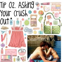 """Tip # 02.? Asking Out Your Crush."" by itsstylediva ❤ liked on Polyvore"