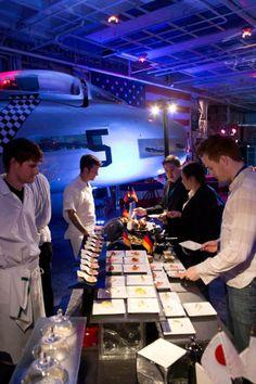 Foxtail Staff at The USS Hornet