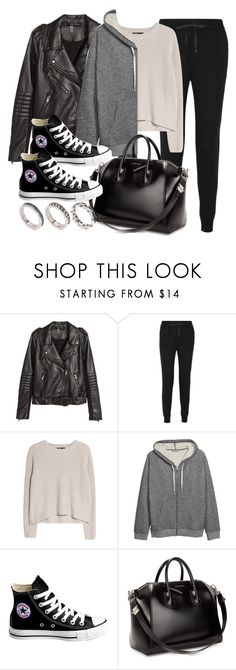 """Sin título #11998"" by vany-alvarado ❤ liked on Polyvore featuring H&M, T By Alexander Wang, MANGO, Converse, Givenchy and ASOS"