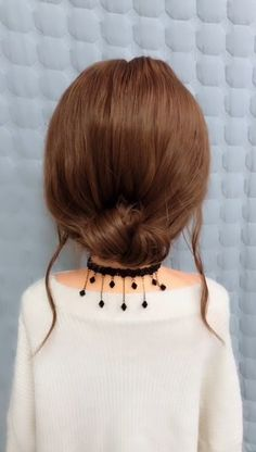 The girl-s long hair Braided Hairstyles Long Hair Braided Hairstyles, Short Hair Bun, Cute Simple Hairstyles, Little Girl Hairstyles, Bride Hairstyles, Short Summer Hairstyles, Tied Up Hairstyles, Braids For Long Hair, Updo Hairstyle