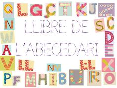 Traç de lletres de l'ABeCeDari