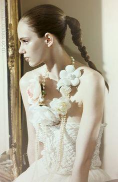 Peinado de novia de Le Salon.