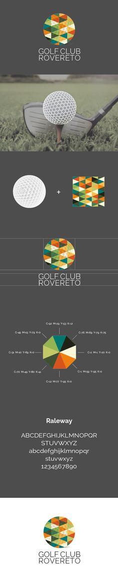 Processo di creazione e realizzazione del logo per Golf Club Rovereto