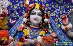 To view Radha Close Up Wallpaper of ISKCON Chowpatty in difference sizes visit - http://harekrishnawallpapers.com/srimati-radharani-close-up-wallpaper-012/