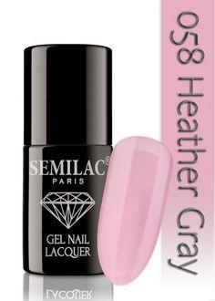 Semilac 058 Heather Gray UV&LED Nagellack. Auch ohne Nagelstudio bis zu 3 WOCHEN perfekte Nägel!