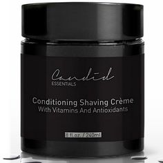 Experience the slickest shave ever! This Organic and Natural Conditioning Shaving Creme prevents cuts and bumps and contains powerful oils, vitamins and antioxidants.