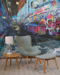 Grant Featherston Aqua Chair #swanstreetsales #pickawall
