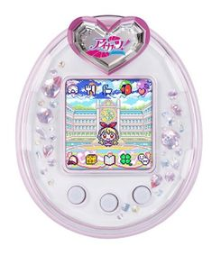 Set >>> Check out this great product. (This is an affiliate link) Tamagotchi P's, Anime Pixel Art, Virtual Pet, Aesthetic Gif, All Things Cute, Mini Games, Cute Toys, Retro Futurism, Cute Characters