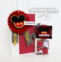 Mafer's Creations: MICKEY MOUSE DECORATED BAGS - BOLSAS DECORADAS DE MICKEY MOUSE