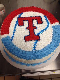 Texas rangers cake!