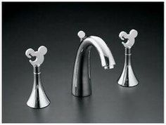 Mickey Mouse Faucet set