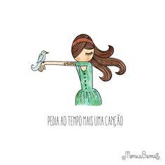 Semana passada, sem querer, conheci Mônica Crema pelo Instagram. ME APAIXONEI pelas ilustrações dessa mineira filha de artista plástica e formada em Design Gráfico. Ela tem menos de 4000 seguidores…