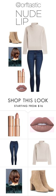"""""""Untitled #217"""" by orftastic ❤ liked on Polyvore featuring beauty, Charlotte Tilbury, Topshop, Vanessa Seward, Urban Outfitters and Yves Saint Laurent"""