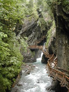 The mystical Sigmund-Thun gorge in Kaprun