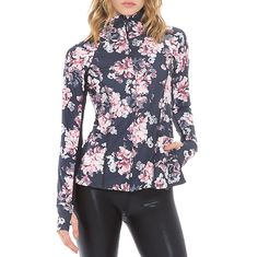 Veste Body Language #sportswear #flowers #madeinusa #yoga