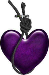 Purple:  #Purple heart.