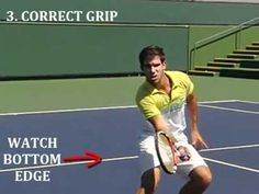 Tennis Volley In Slow Motion - 3 Tips To Help You Volley Like Federer, Rafter & Sampras