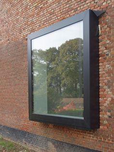 +32 475 87 10 75 marc.derkinderen@vorsselmans.be House Windows, Windows And Doors, Bungalow Extensions, Glass Extension, Small Space Interior Design, Modern Windows, Timber Cladding, Property Design, Window Styles