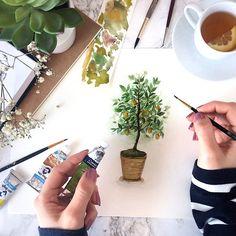 (@rosies.sketchbook) #watercolor #watercolour #painting #sketch #art #artist #artwork #draw #drawing #doodle #watercolorist #illustration #illustrated