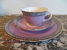 Belmont Adderley's Bone China Tea Cup by VintageShoppingSpree, $38.00