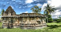 Chennakeshva Temple , Marle (12 Kms): Here the twin temple structure of Chennakeshva Temple (also known as Kesava Temple) and the Siddeswara Temple dates to 1150 AD (Hoysala Period). South India #temples