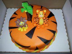 Magic orange cake