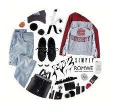 """Circle"" by aminkicakloko ❤ liked on Polyvore featuring KAROLINA, Wrap, NARS Cosmetics, Humör, Mary Kay, Yves Saint Laurent, Agonist, NYX, Deborah Lippmann and Home Decorators Collection"