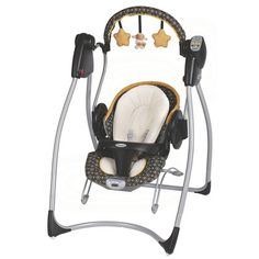 @Overstock - The Graco Duo 2-in-1 Plug-In Swing and Bouncer offers two features in one. With the comfort of your baby in mind, this full featured swing includes a deluxe, upgraded seat pad and additional body support to cuddle your infant.http://www.overstock.com/Baby/Graco-Duo-2-in-1-Plug-in-Swing-and-Bouncer-in-Flare/7893794/product.html?CID=214117 $109.99