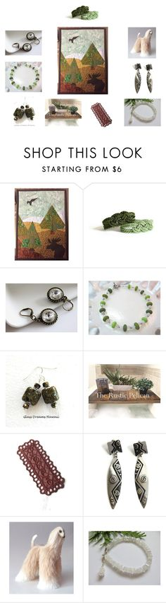 """""""Lovely Gift Collage #12"""" by keepsakedesignbycmm on Polyvore featuring etsy, jewelry, accessories, homedecor and smallshops"""