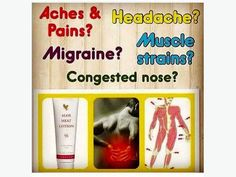 Multiple benefits in one tube! Aloe Vera Heat Lotion, Congested Nose, Forever Aloe, Forever Living Products, Migraine, Tube, Food, Essen, Meals