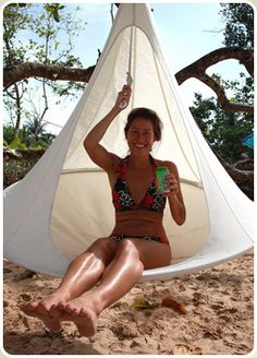 single Cacoon : product description With a diameter of 1.5m the single Cacoon hanging chair is our most popular size, inside or out – just p...