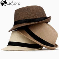 3065b06fbe3 Ladybro Casual Panama Sun Hats Straw Men Beach Summer Fashion Hats For Women  Fedora Trilby Gangster Cap Jazz Hats Girl Visor Cap - Wonderfest  Supernatural ...