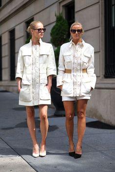 Seeing double. #fashion #streetstyle