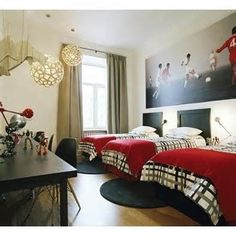 Image detail for -... room ideas soccer room decor sports themed rooms for toddlers boy room